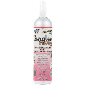 Double K Spray Tangles Away - spray ułatwiający rozczesywanie skołtunionego, splątanego włosa