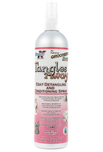 Double K Spray Tangles Away – spray ułatwiający rozczesywanie skołtunionego, splątanego włosa