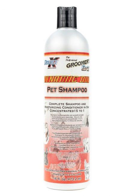 Double K Dynamic Duo 2 w 1 – uniwersalny szampon i odżywka nawilżająca dla psów