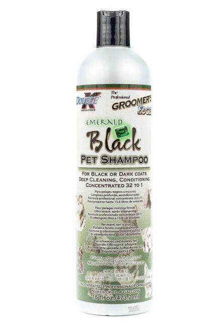 Double K Emerald Black – szampon dla psów do ciemnego <br />włosa